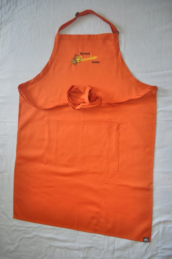 Big Island Chocolate Festival Orange Apron_2