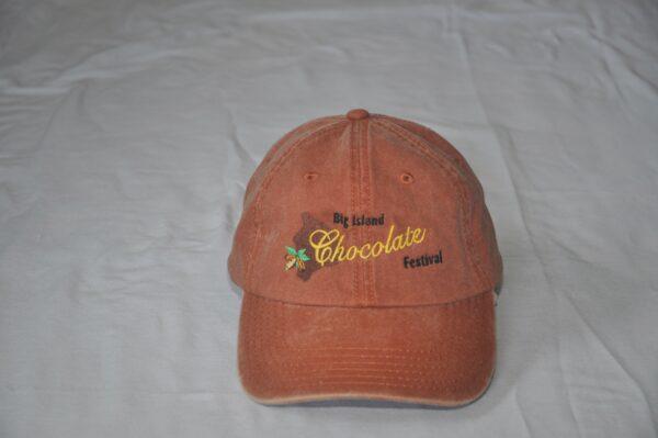Big Island Chocolate Festival Brown Hat