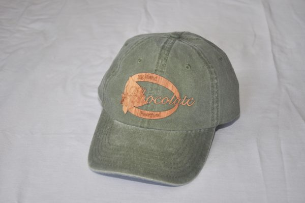 Big Island Chocolate Festival - wood design hat
